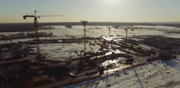 Панорамная видеосъемка ЖК Пригород Лесное